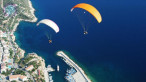Paragliding in Side (Parachute) Jump