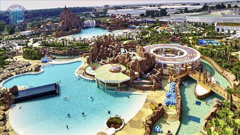 Tour to The Land of Legends Water Park from Side