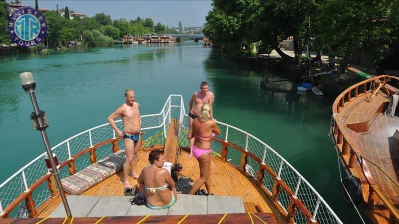 Manavgat Bazaar, Water fall and River Boat Trip from Kumkoy