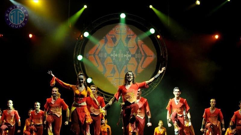 The show Fire of Anatolia in Belek