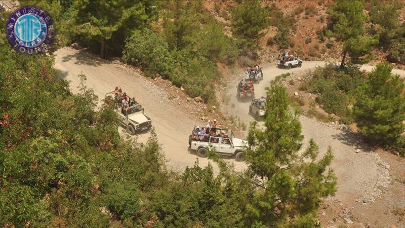 Alanya Jeep Safari Rafting Mix Tour