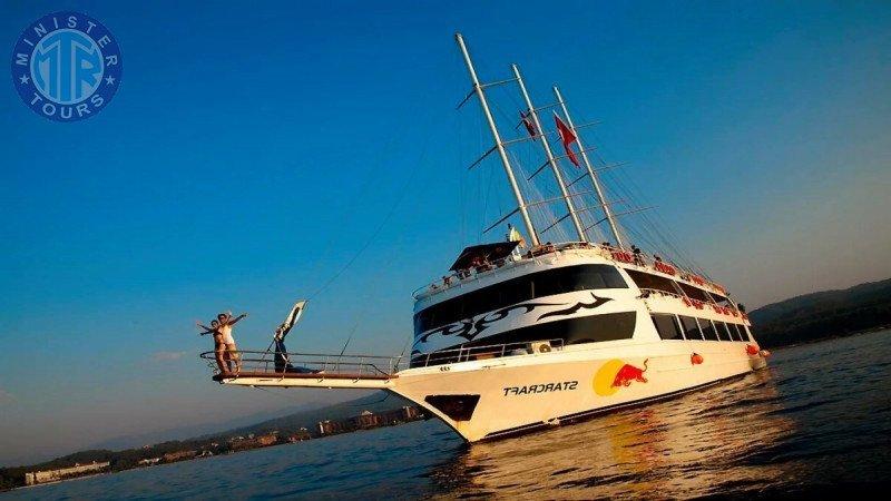 Alanya evening Boat Cruises Trip