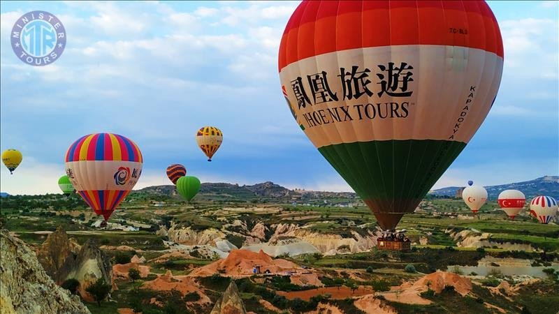 Excursion to Cappadocia from Kemer 3 days