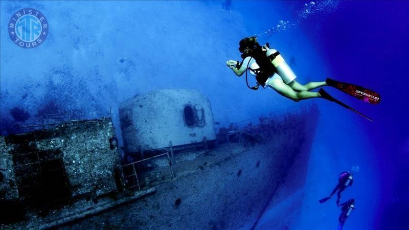Diving in Antalya