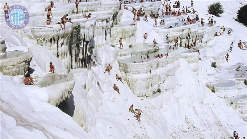 Pamukkale tour from Antalya for two days