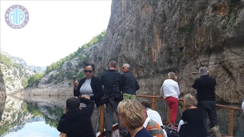 Green Canyon boat tour from Antalya