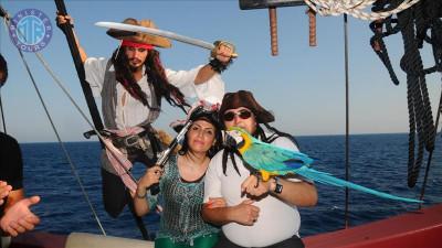 Alanya Pirate Boat Tour