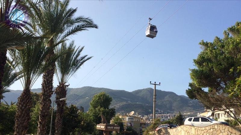 تور شهر آلانیا همراه با تلکابین از آوسالار