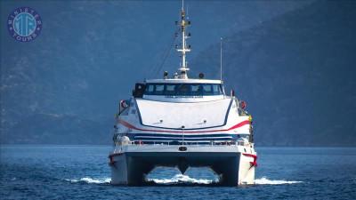 بلیط کشتی به جزیره رودس از مارماریس