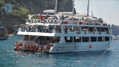 Alanya All Inclusive Boat Tour from Turkler