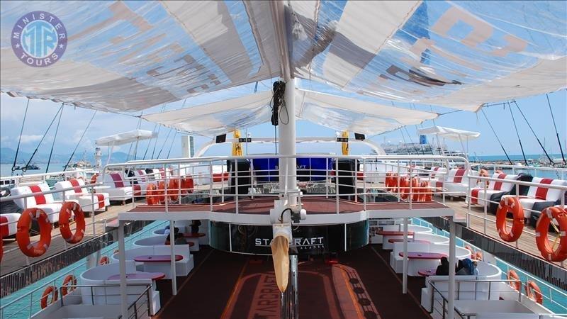 Kelionė Alanijoje Starcraft laivu