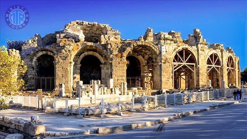Alanya'dan Side turu ve Kurşunlu, Aspendos