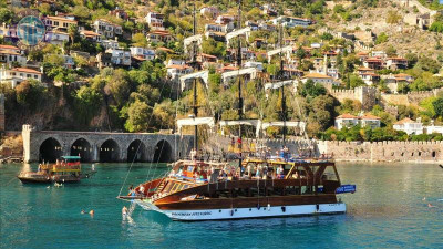 Alanya Boat Tour from Turkler