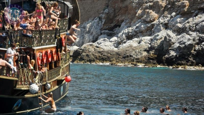 Alanya Viking Boat Tour