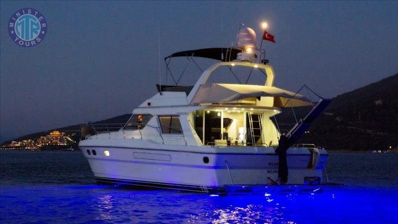 Location de Yacht à Alanya