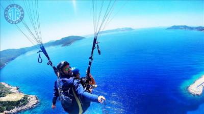 Turkler Paragliding (Parachute) Tour
