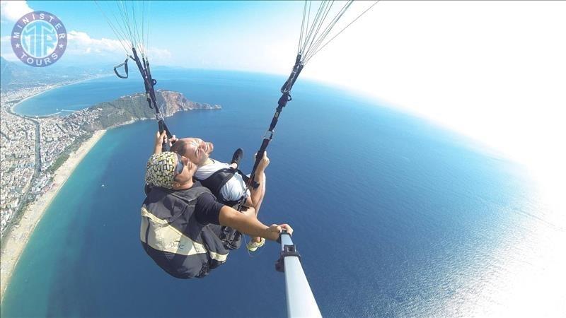 Paragliding i Alanya