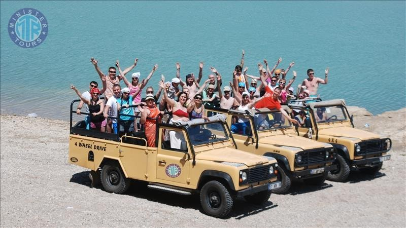 Green Canyon Jeep Safari from Alanya