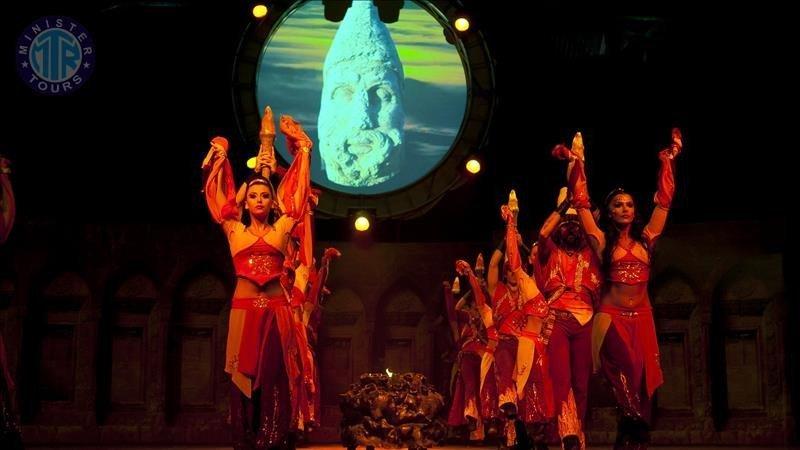 تور گروه رقص آتش آناتولی در کستل
