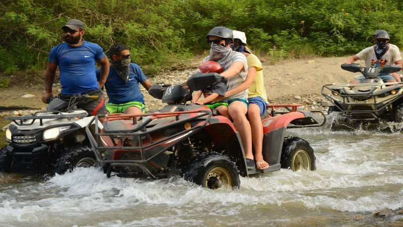 Quad bike Safari in Evrenseki