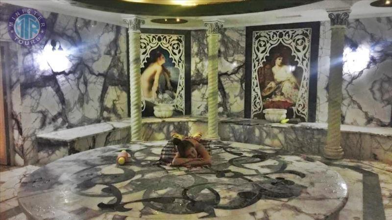 Turkish Bath Hamam in Titreyengol Turkey