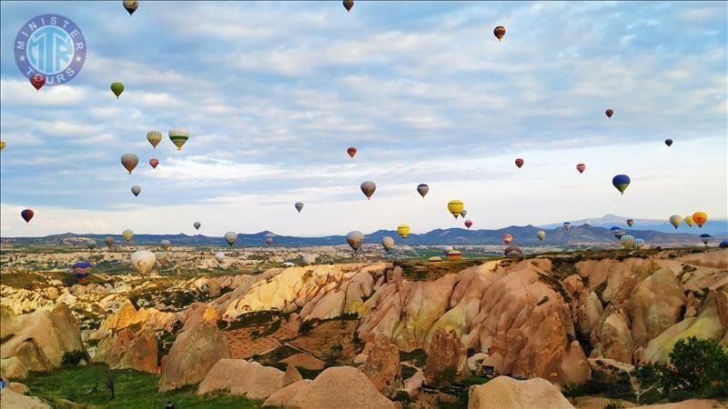 Excursion to Cappadocia from Manavgat