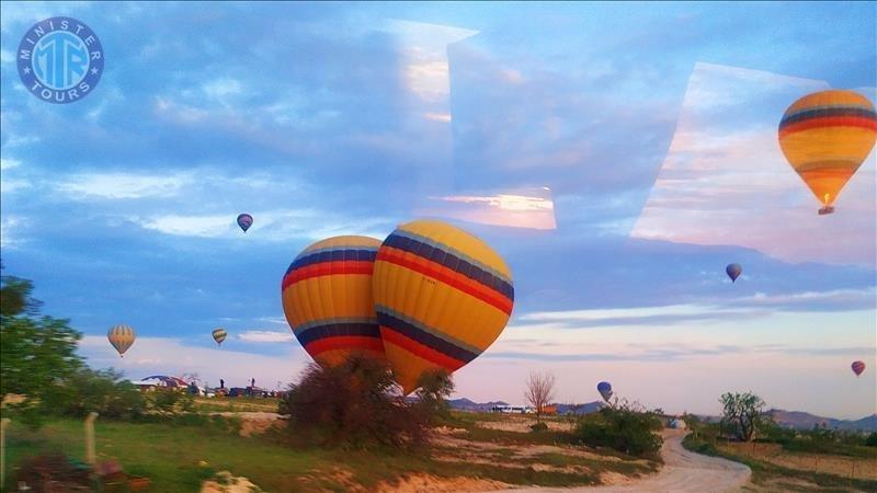 Excursion to Cappadocia from Kumkoy