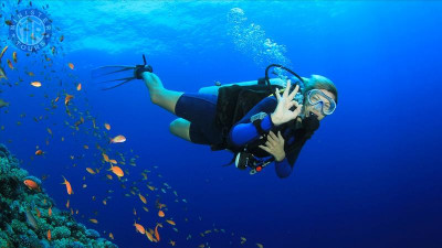 Diving in Evrenseki Turkey