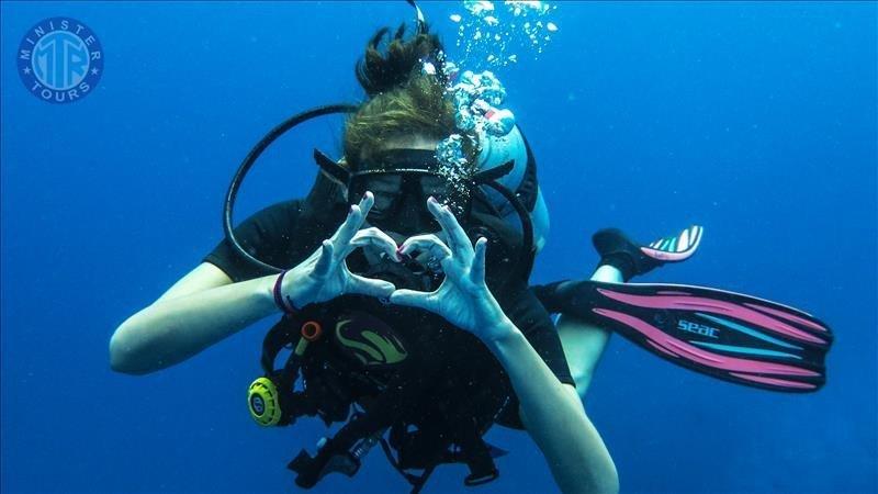 Diving in Manavgat Turkey