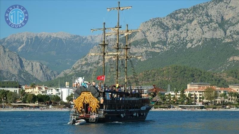 Pirate Boat Tour in Kizilagac