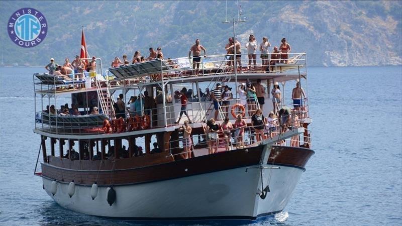 Dolphin island boat tour from Kumkoy