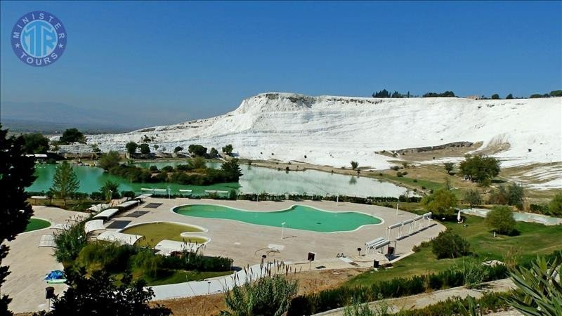 Tour to Pamukkale one day from Belek