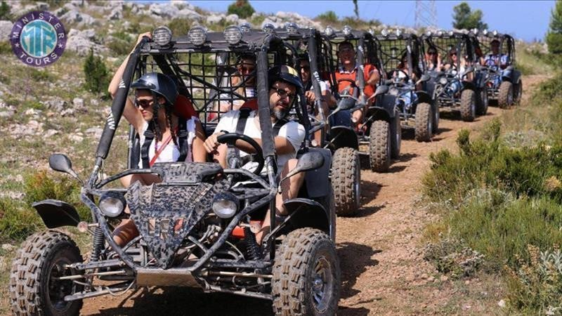 Buggy Safari and Rafting Tour in Kizilagac